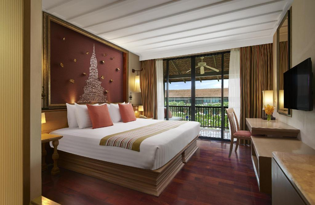 Superior Double Pool View - Bed Sukhothai Heritage Resort