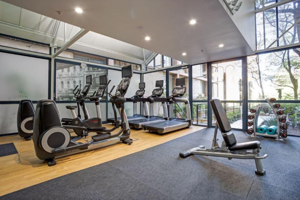 Fitness center Melbourne Marriott Hotel