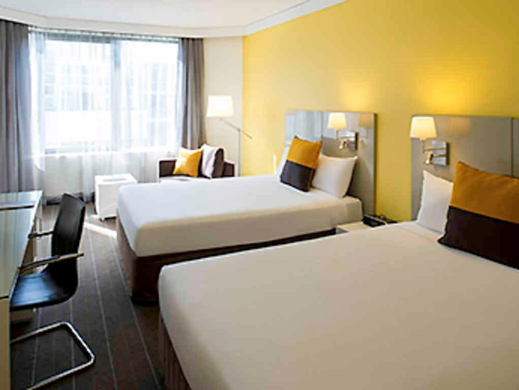 Superior Room 2 Queen Beds  - Bed Novotel Sydney Central