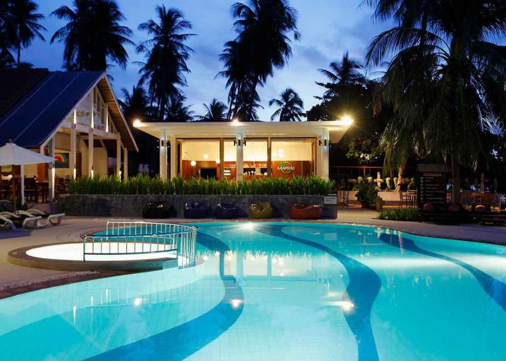 Swimming Pool Outdoor Centra By Centara Coconut Beach Resort Samui