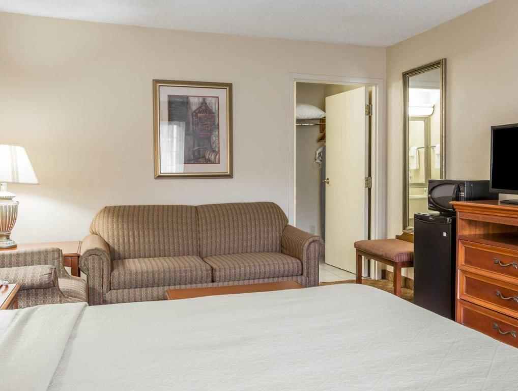 Standard - Quarto de hóspedes Quality Inn & Suites Hanes Mall (Quality Inn and Suites Hanes Mall)