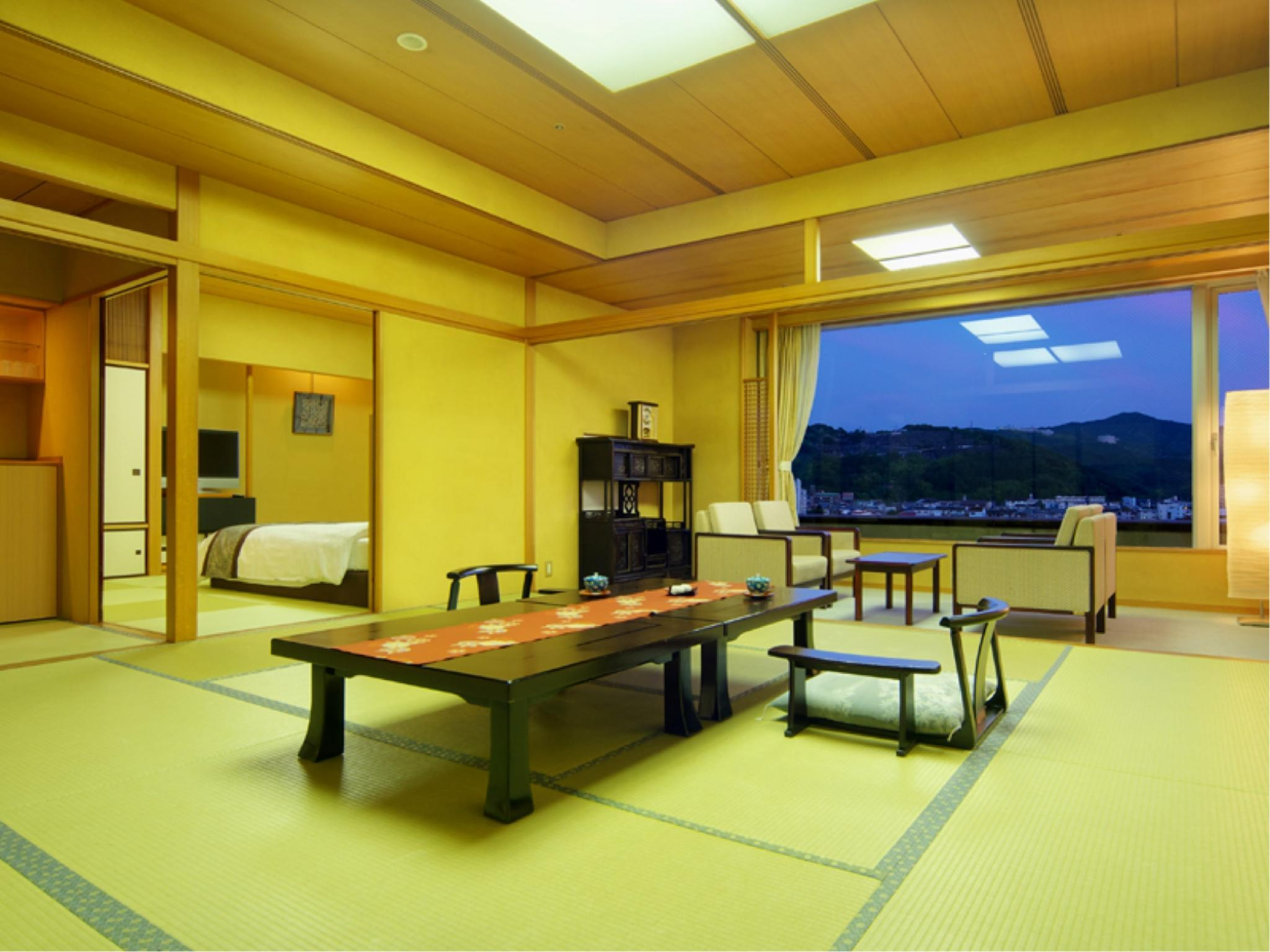 Special Modern Japanese-style Room (Twin Beds, Senju Type)