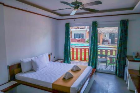 Superior King Room - Room plan Scent of Green Papaya Resort
