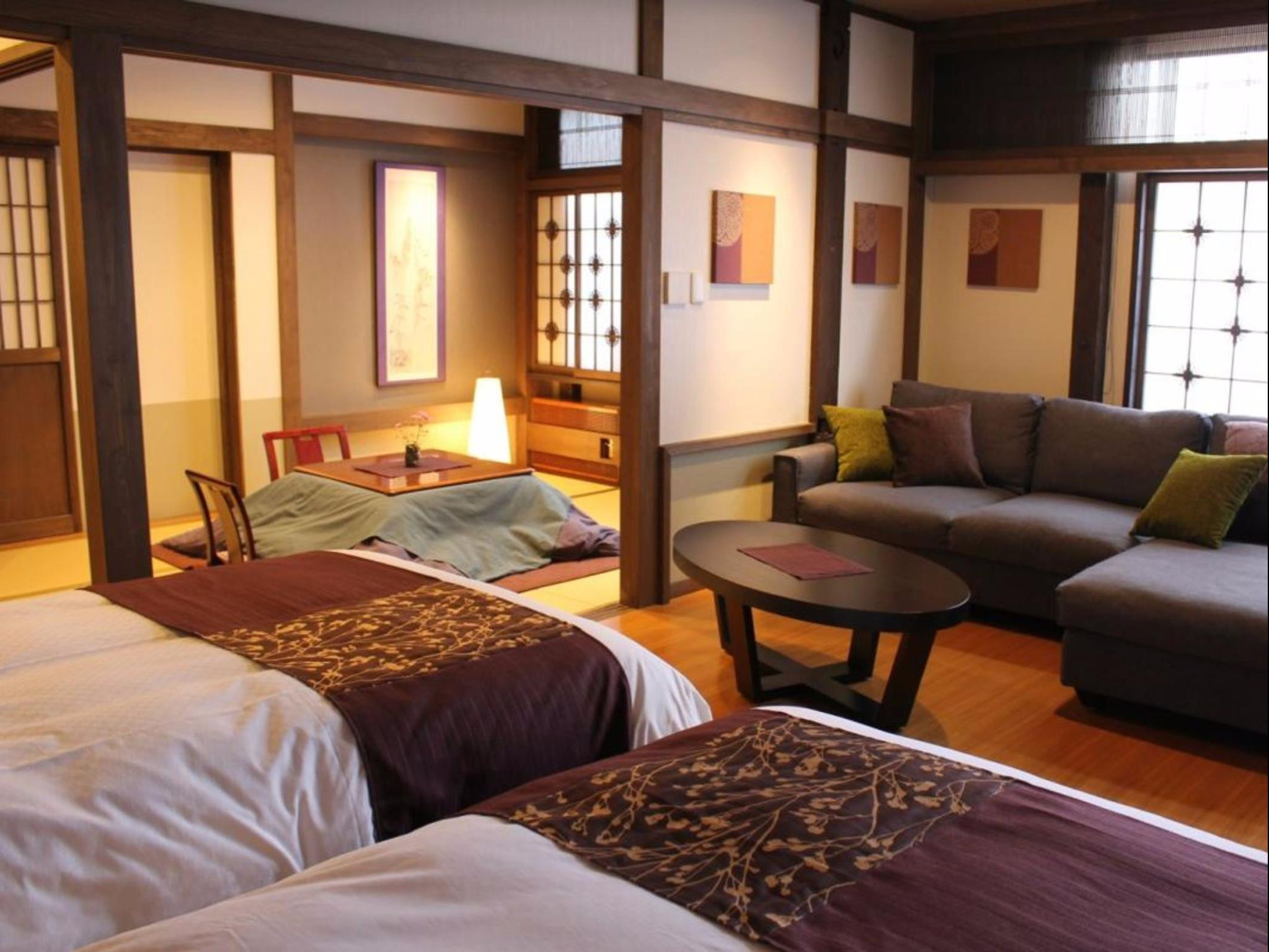 Rindo Superior Twin Room with Tatami Area - Non-Smoking