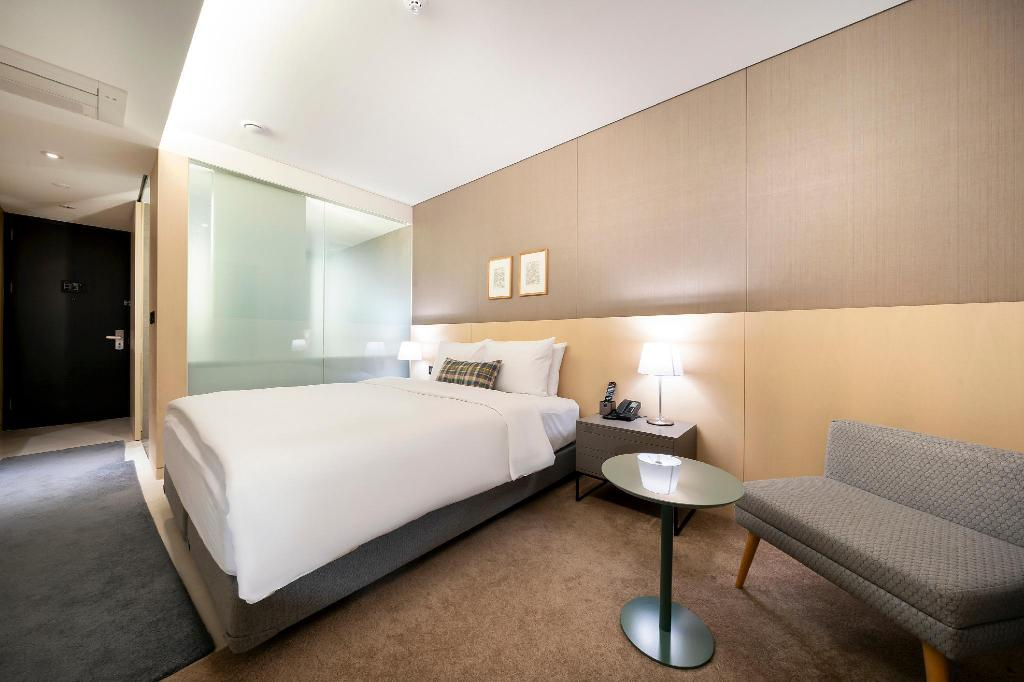 King Room - Bedroom Boree Hotel Gangnam