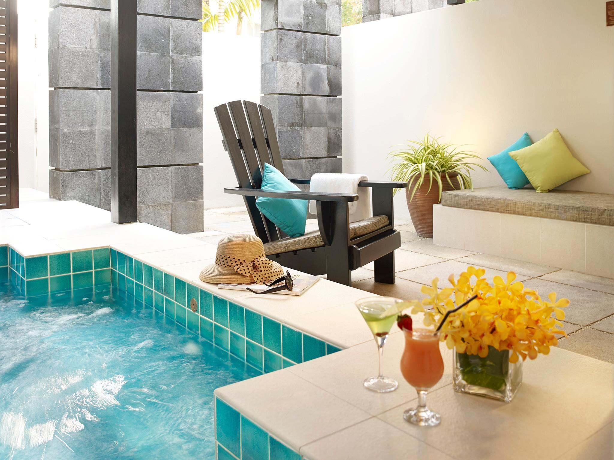 Binnenplaats Suite met eigen jacuzzi (Courtyard Suite with Private Jacuzzi)