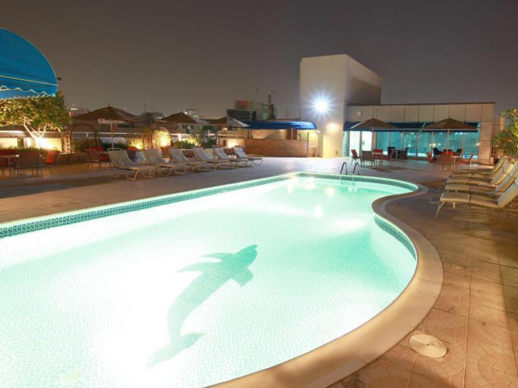 Swimming pool [outdoor] J5 Rimal Hotel Apartments