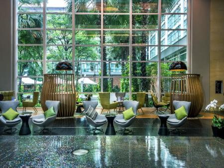 Lobby Pullman Bangkok King Power Hotel