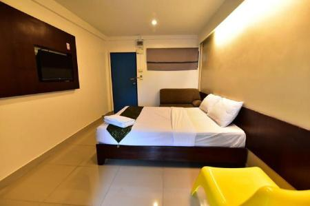 Superior Single Room - Room plan Floral Shire Resort