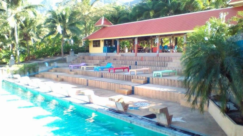 utomhuspool Koh Chang Resortel