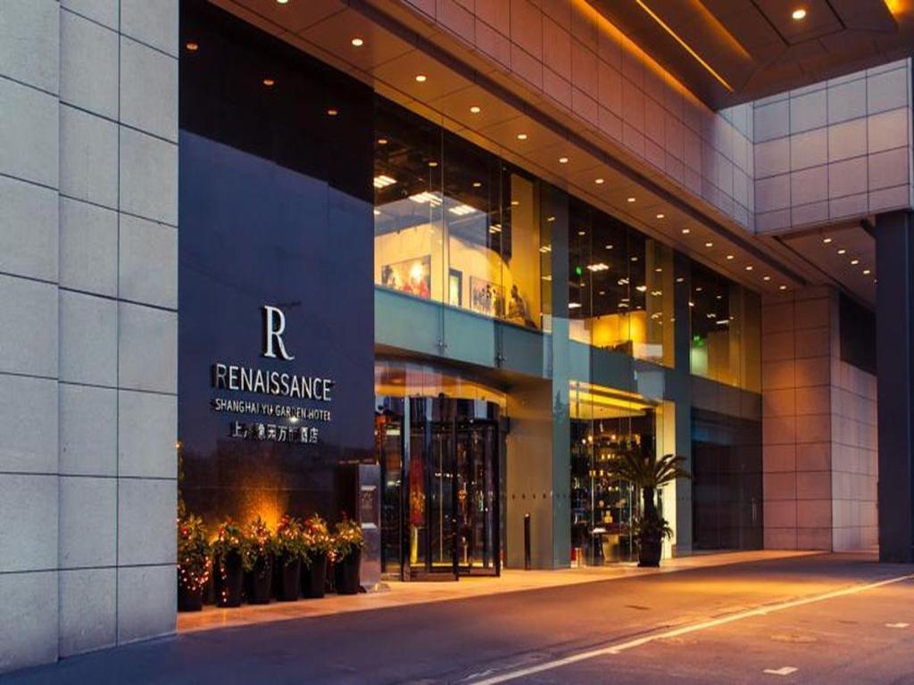 Renaissance Shanghai Yu Garden Hotel in China - Room Deals, Photos