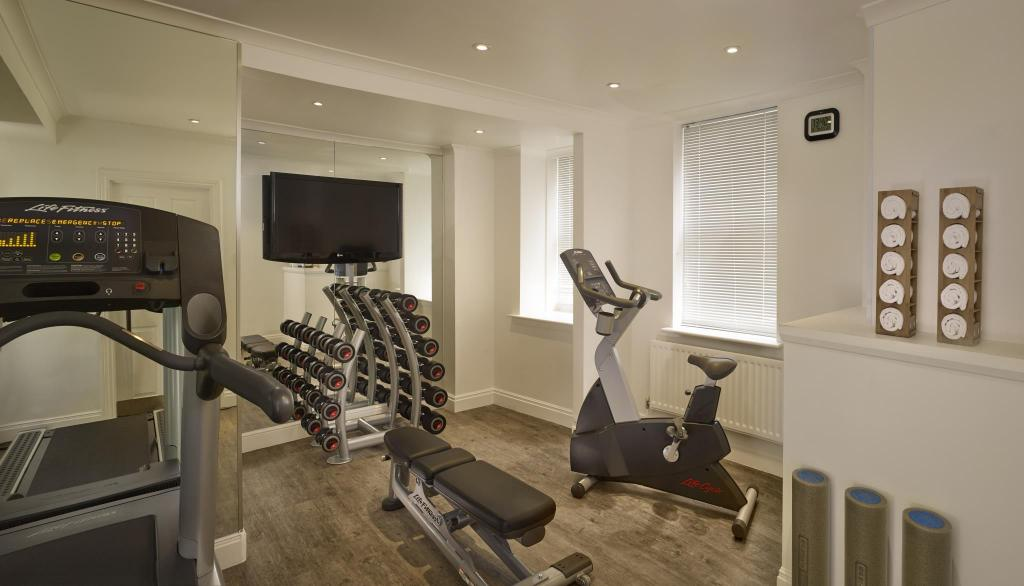 fitness centrum Citadines South Kensington London