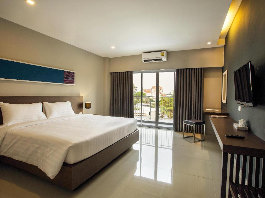 Chambre Deluxe avec Lit Double  V Hotel Ubon Ratchathani