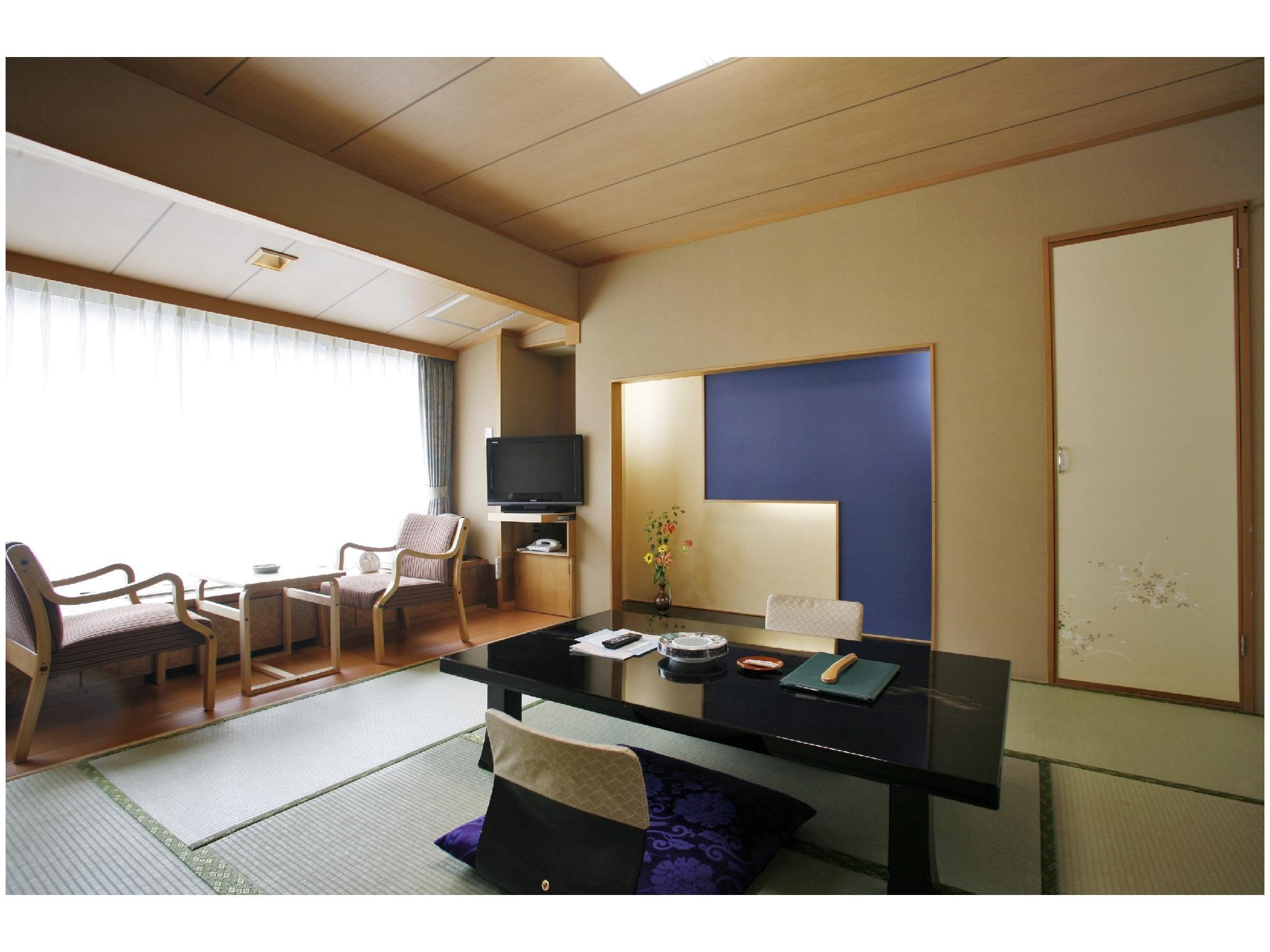 本館「彩花」 雙人雙床房 (Twin Room (Main Building Saika))