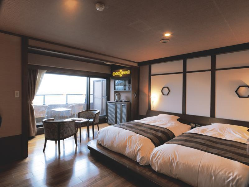 双人双床房 (Contemporary Japanese-style Room (2 Beds, Annex))