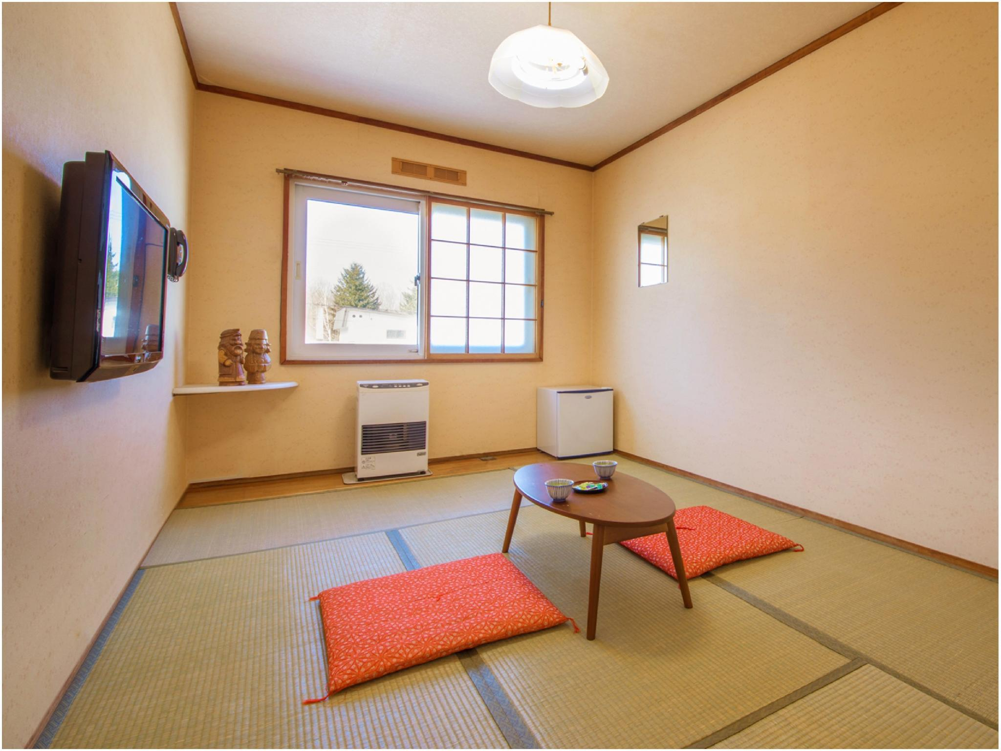 【バス・トイレ無】温泉館6畳◆禁煙◆|6畳 (Japanese-style Room (Onsenkan Wing) *No bath or toilet in room)