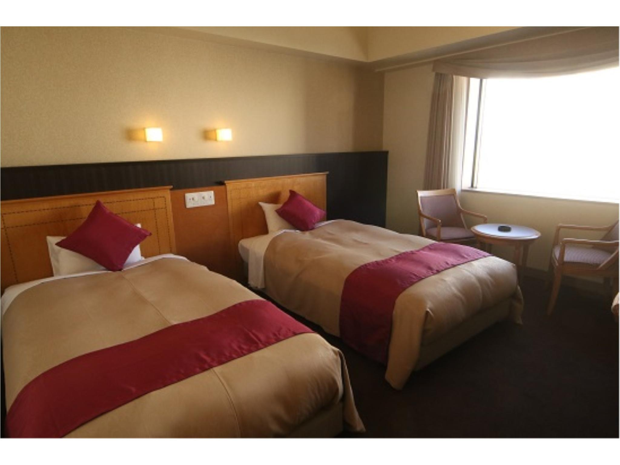 豪華房(兩床/本館) (Main Building Deluxe Twin Room)