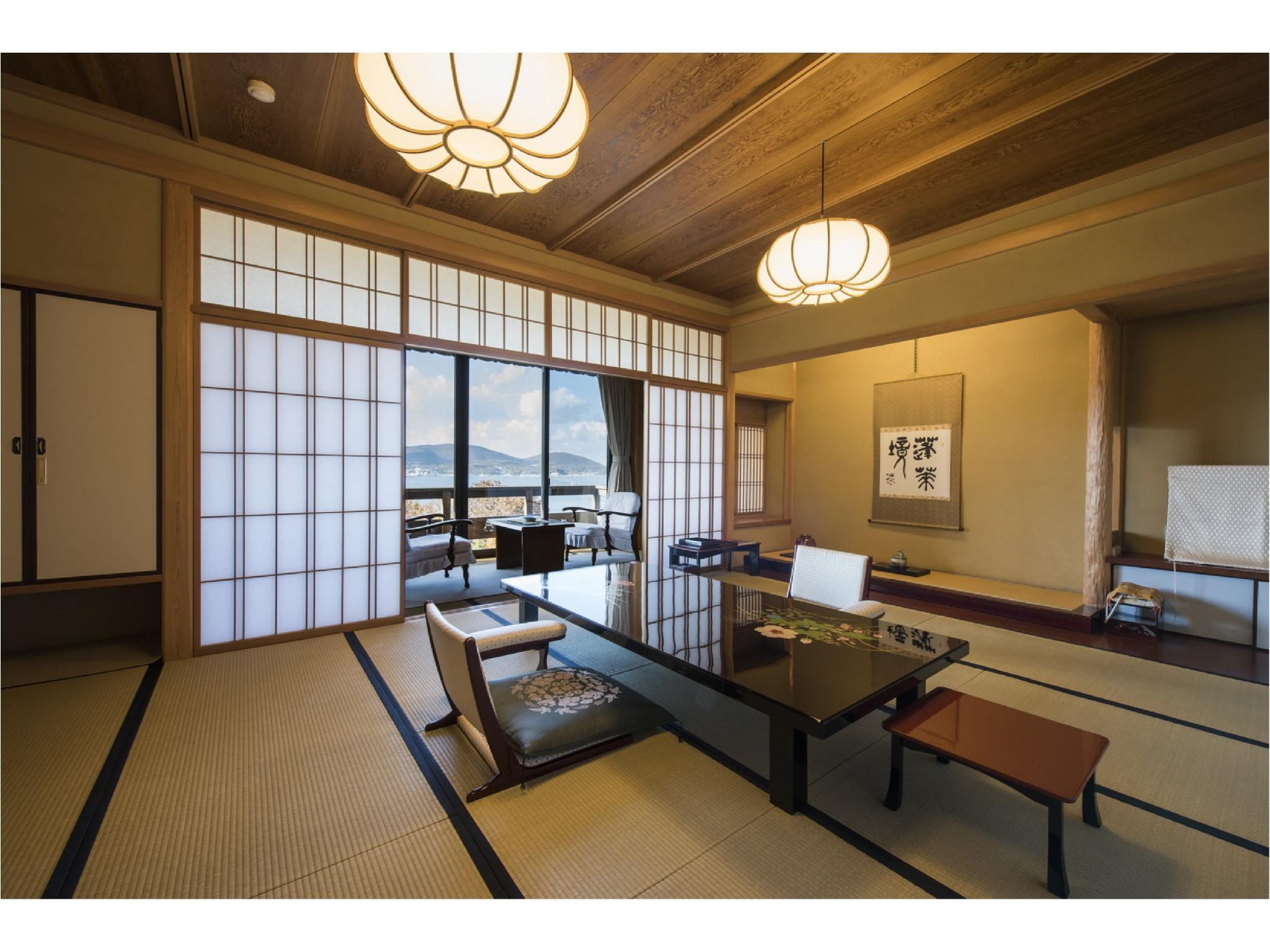 本馆 和式房※无浴室有厕所 (Japanese-style Room (Main Building) *Has toilet, no bath in room)