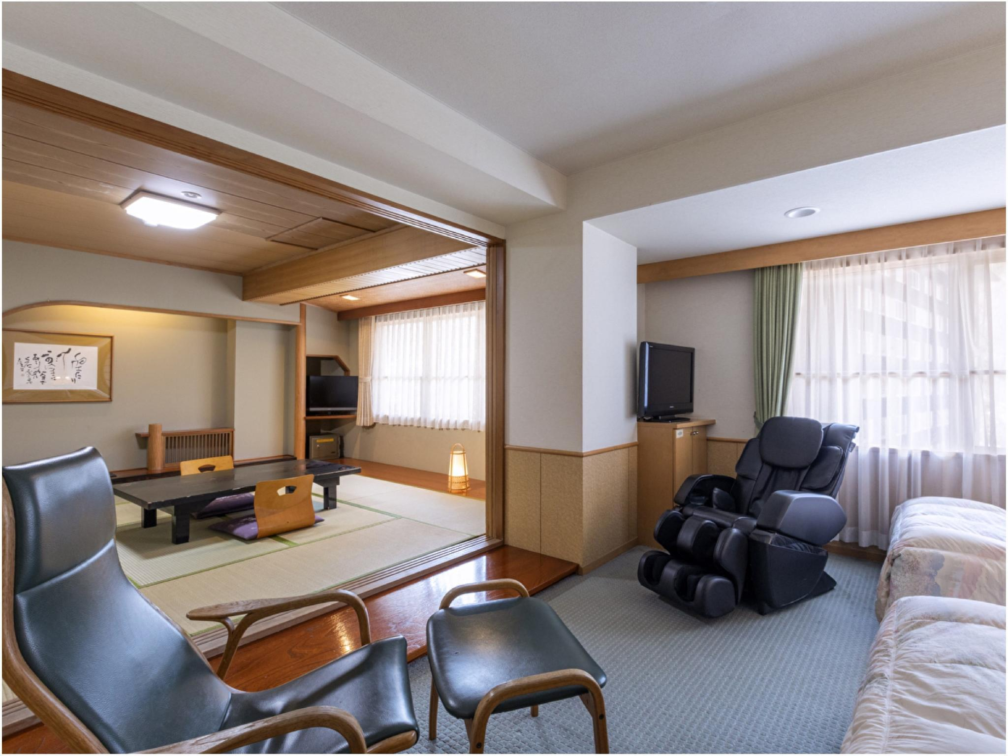Relaxation Japanese/Western-style Room
