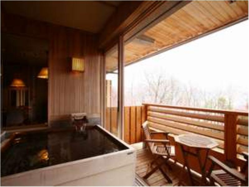 展望風呂付和洋室75平米【禁煙】|75平米 (Japanese/Western-style Room with Scenic View Bath)