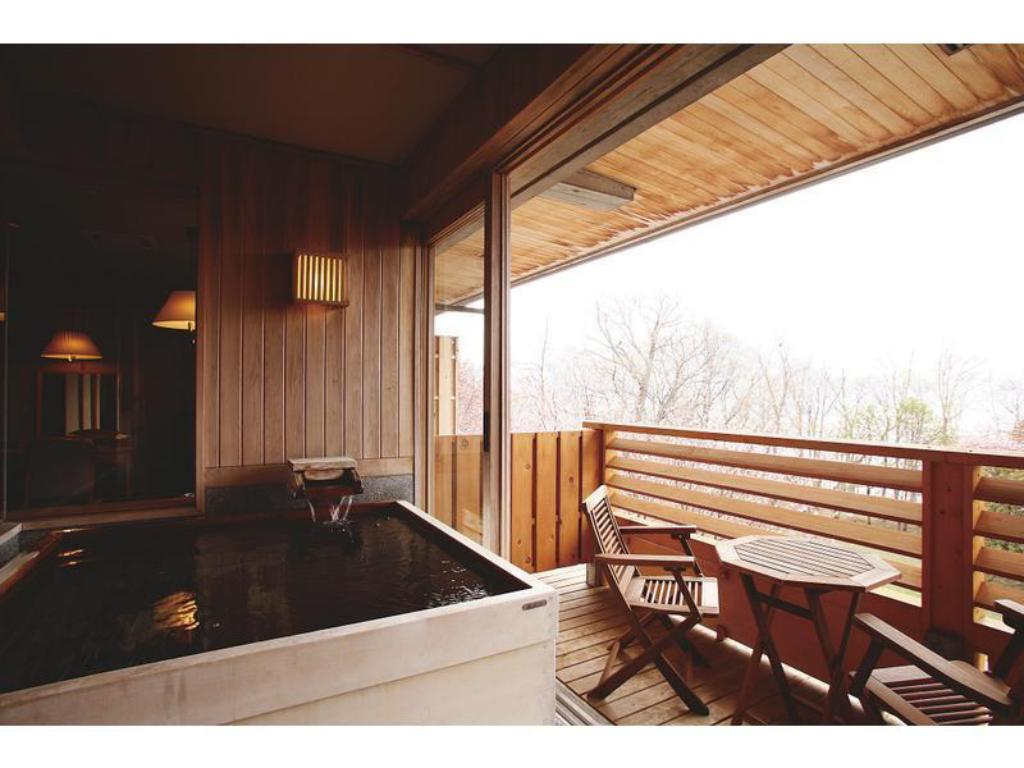 Japanese/Western-style Room with Scenic View Bath - Guestroom