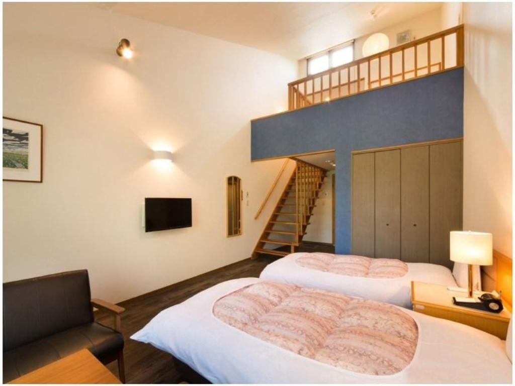 Twin Room with Loft - Guestroom Granvillage Onuma