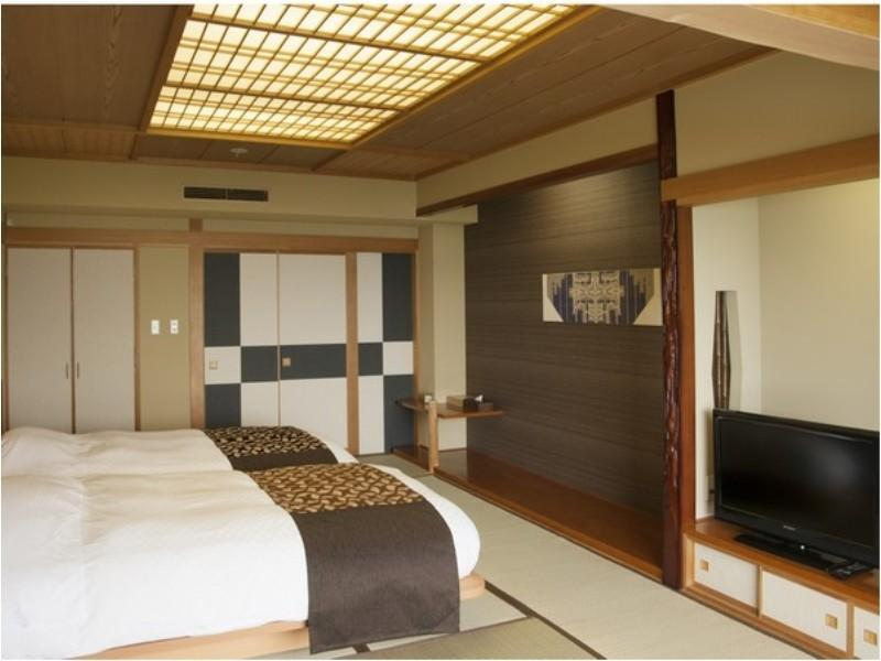 和式双人双床房+浴室 (Japanese-style Twin Room *Has bath)