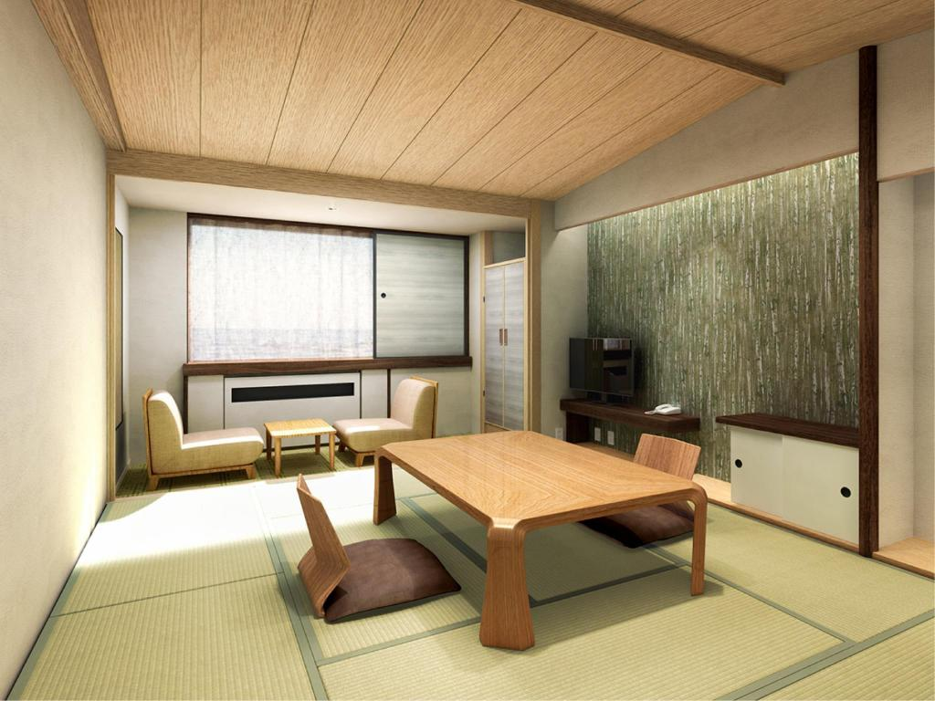 Japanese-style Room (South Wing) - ห้องพัก