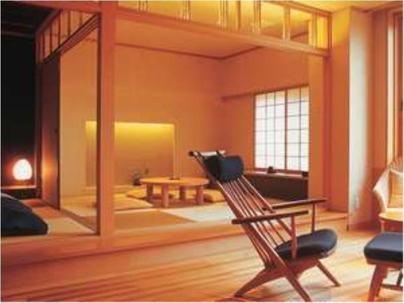 Japanese-style Room with Cypress Hot Spring Bath