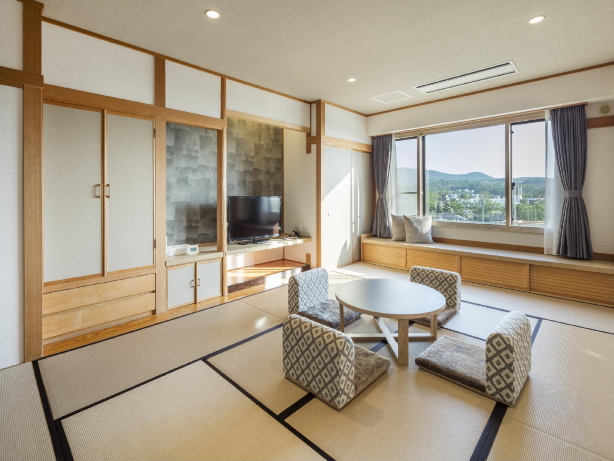 自然和式房(2018年新改装) (Natural Japanese-style Room *Refurbished 2018)