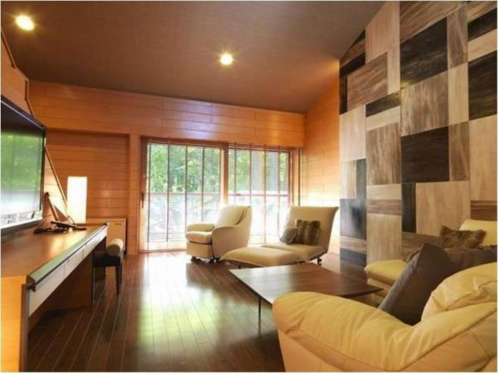 Cottage with Open-air Bath (Living Room + Bedroom) - Guestroom