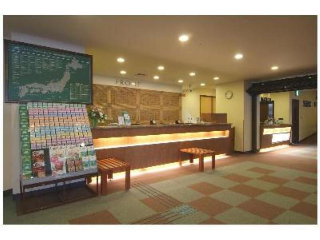ロビー ルートイングランティア秋田 SPA RESORT (Route-Inn Grantia Akita Spa Resort)