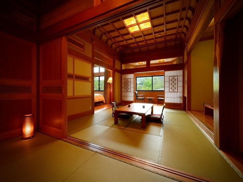 特别房(和式房+双人双床房) (Special Room (Japanese-style Room + Twin Room))