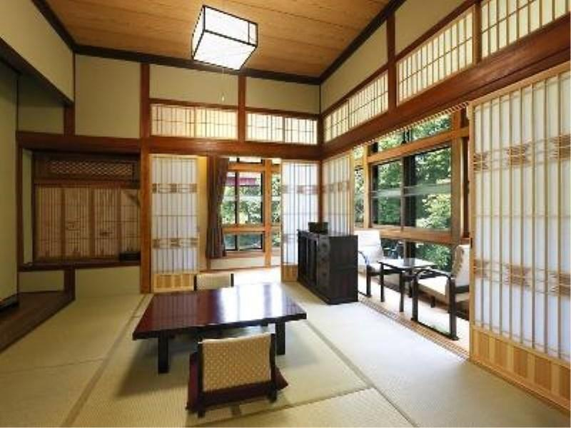 木造本馆 和式房※无厕所洗脸台 (Japanese-style Room (Main Building) *No toilet or washroom in room)