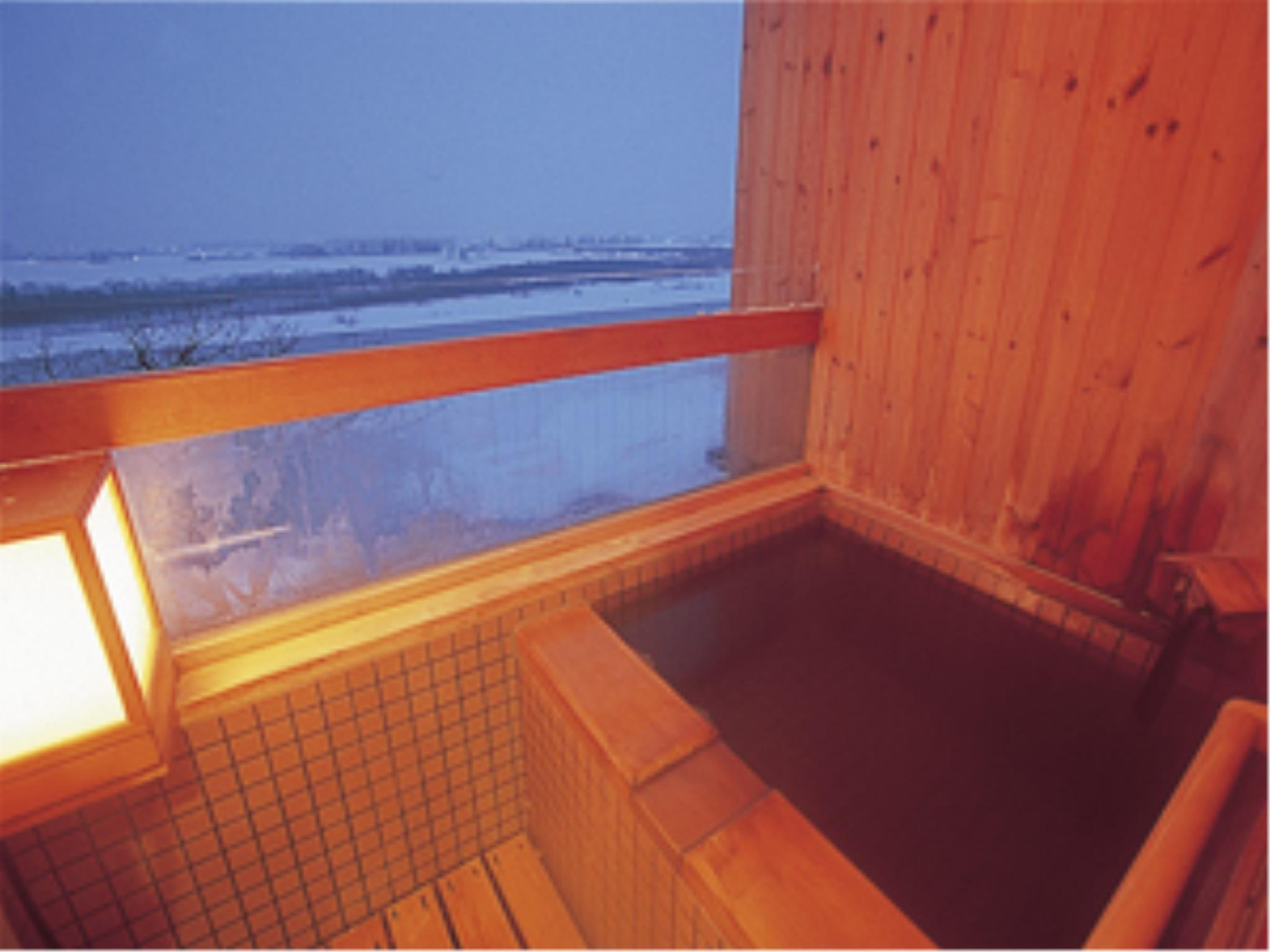 Japanese-style Room with Open-air Bath (Observatory Floor)