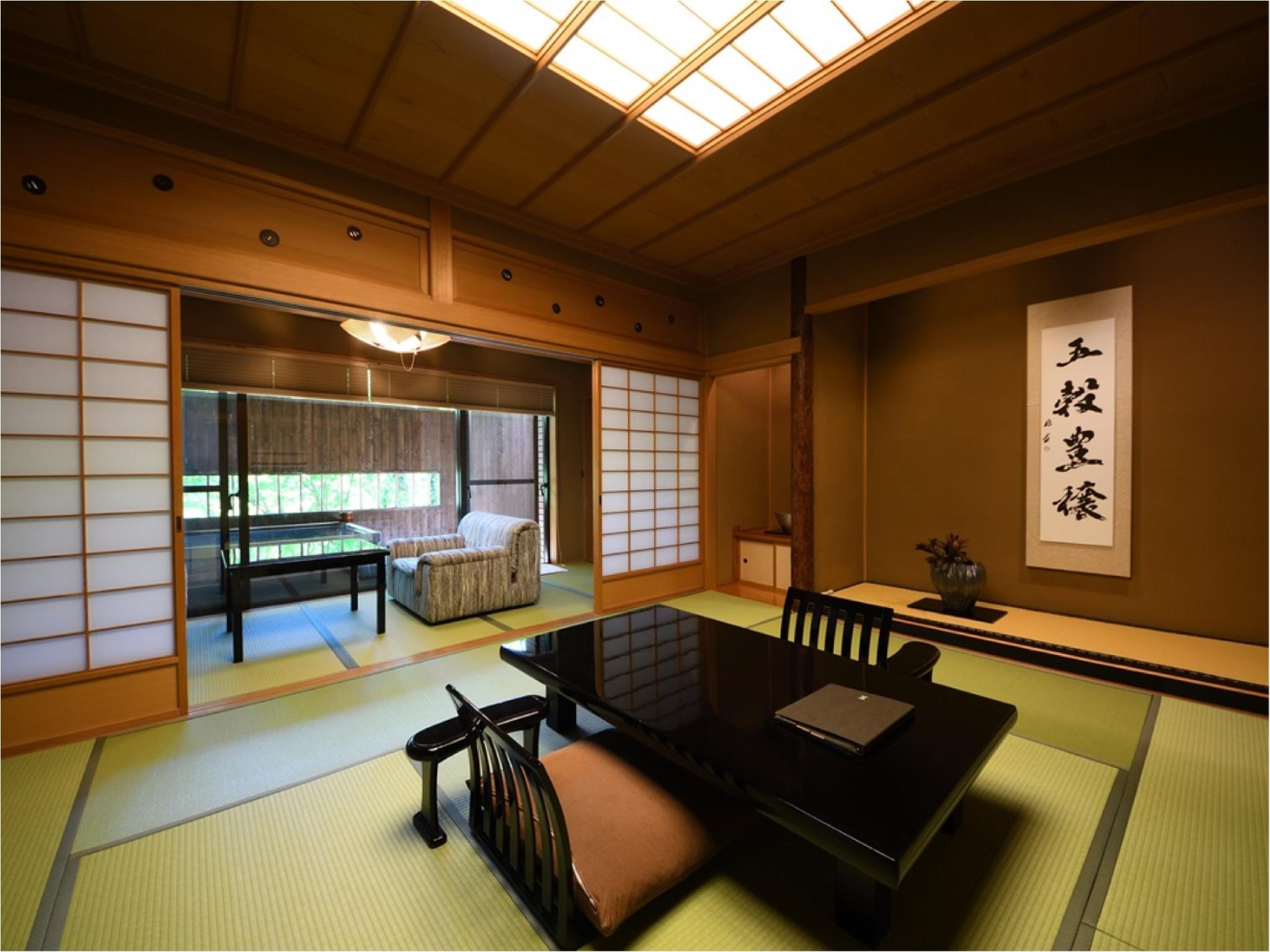 다다미 침대 객실(별채/특별실/노천탕) (Detached Special Japanese/Western-style Room with Open-air Bath)