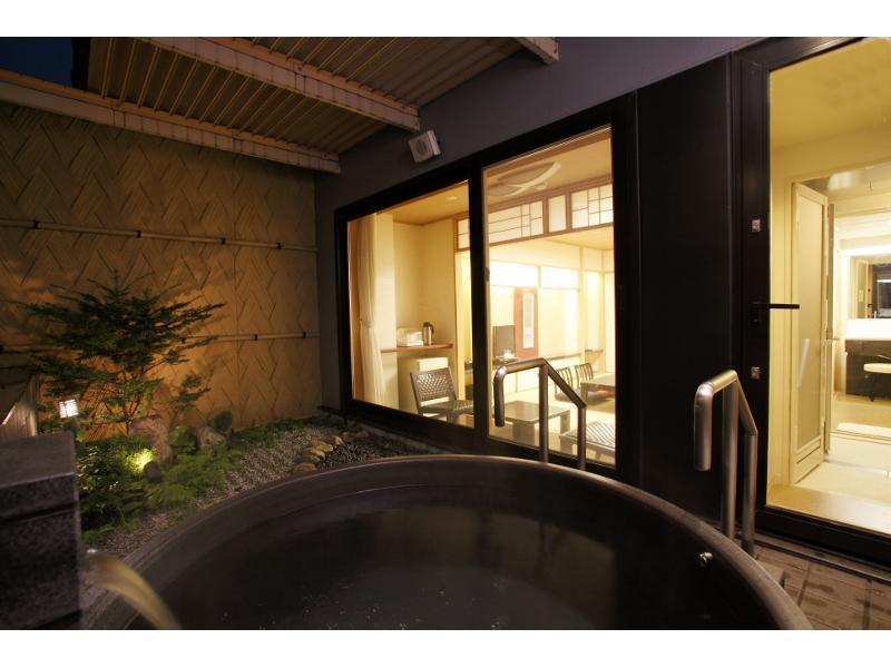다다미 객실(노천탕) *흡연 (Japanese-style Room with Open-air Bath *Smoking)