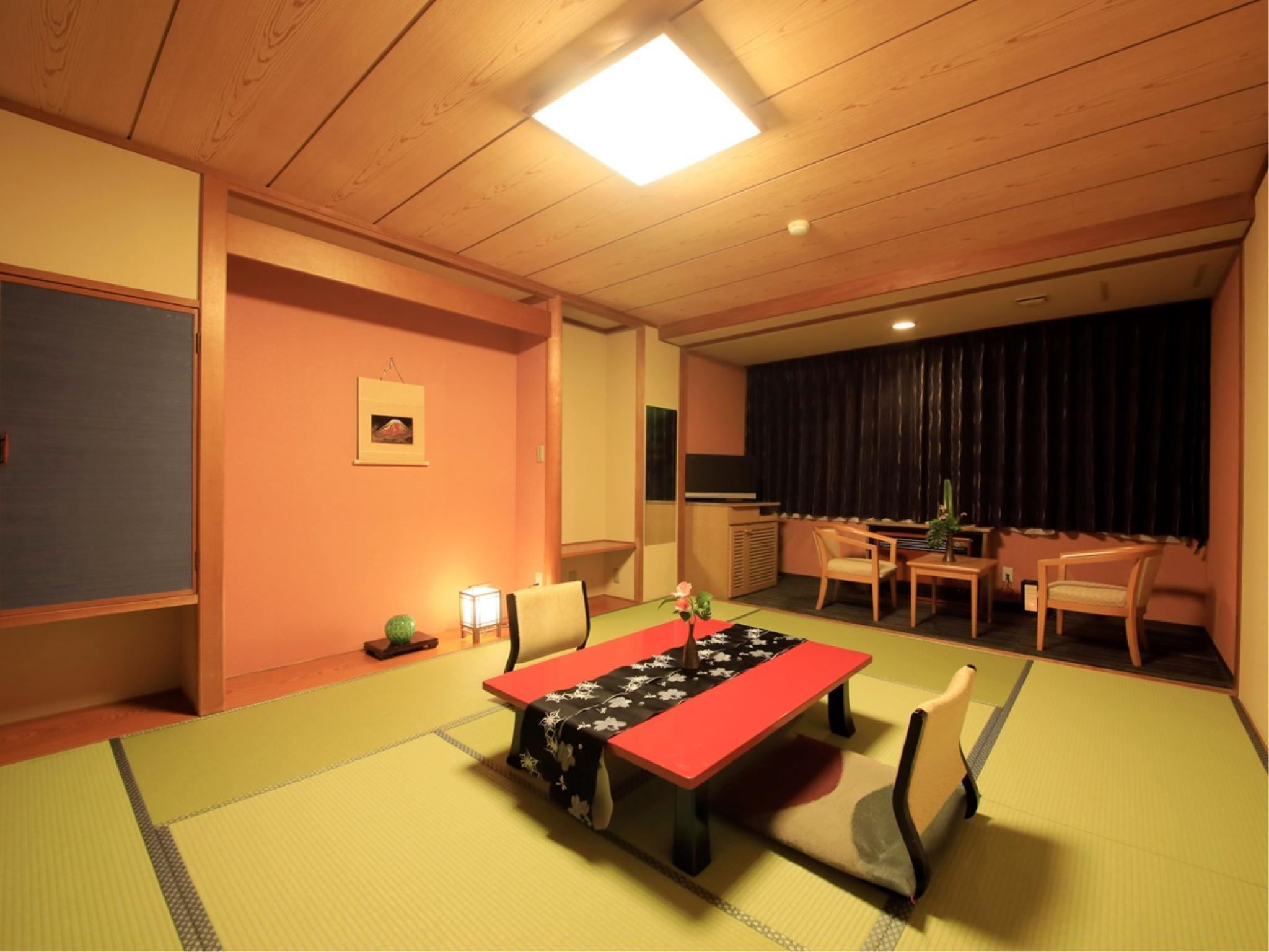和室|10畳+踏込 (Japanese Style Room - Non-Smoking  )