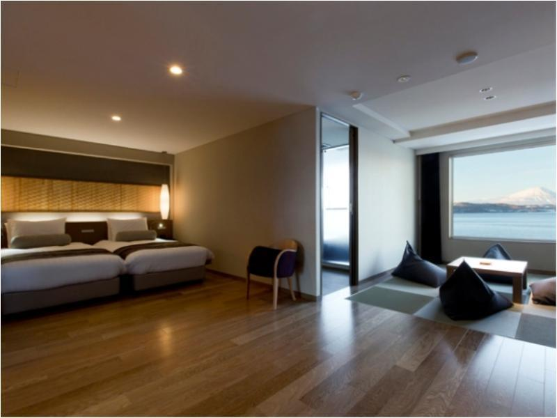Western-style Room or Japanese/Western-style Room with Scenic View Bath (Nonokaze Club)*Allocated on Arrival