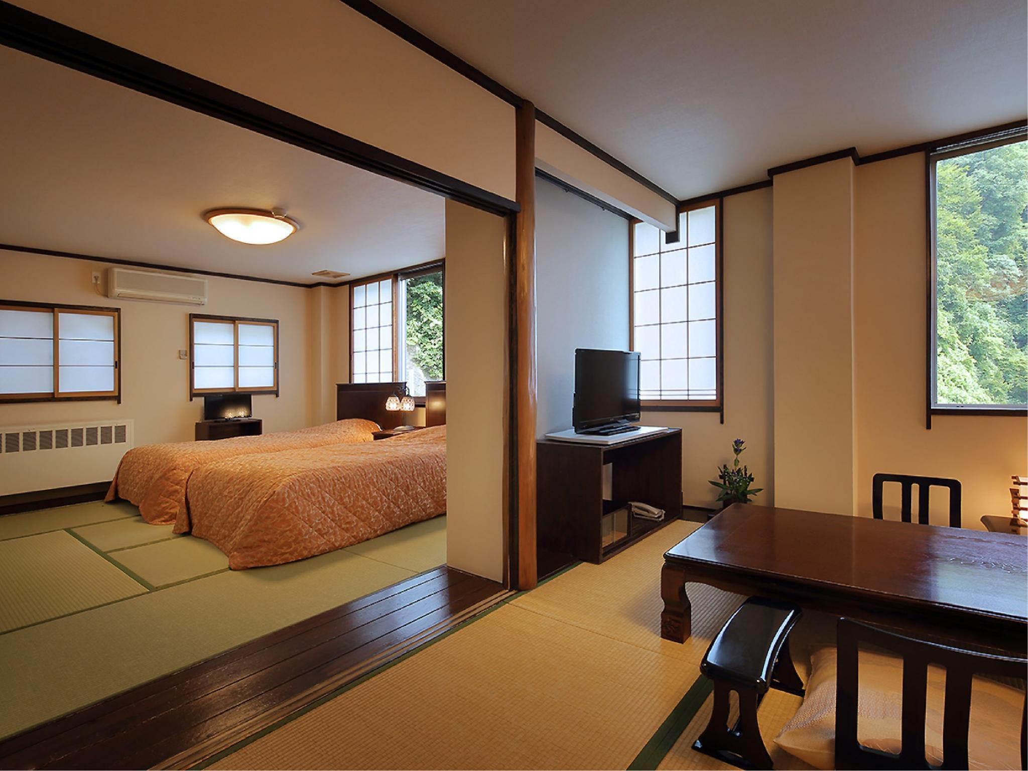 Japanese-style Room (*Non-smoking from 2020/4/1) (Japanese-style Room (2 Japanese Beds))
