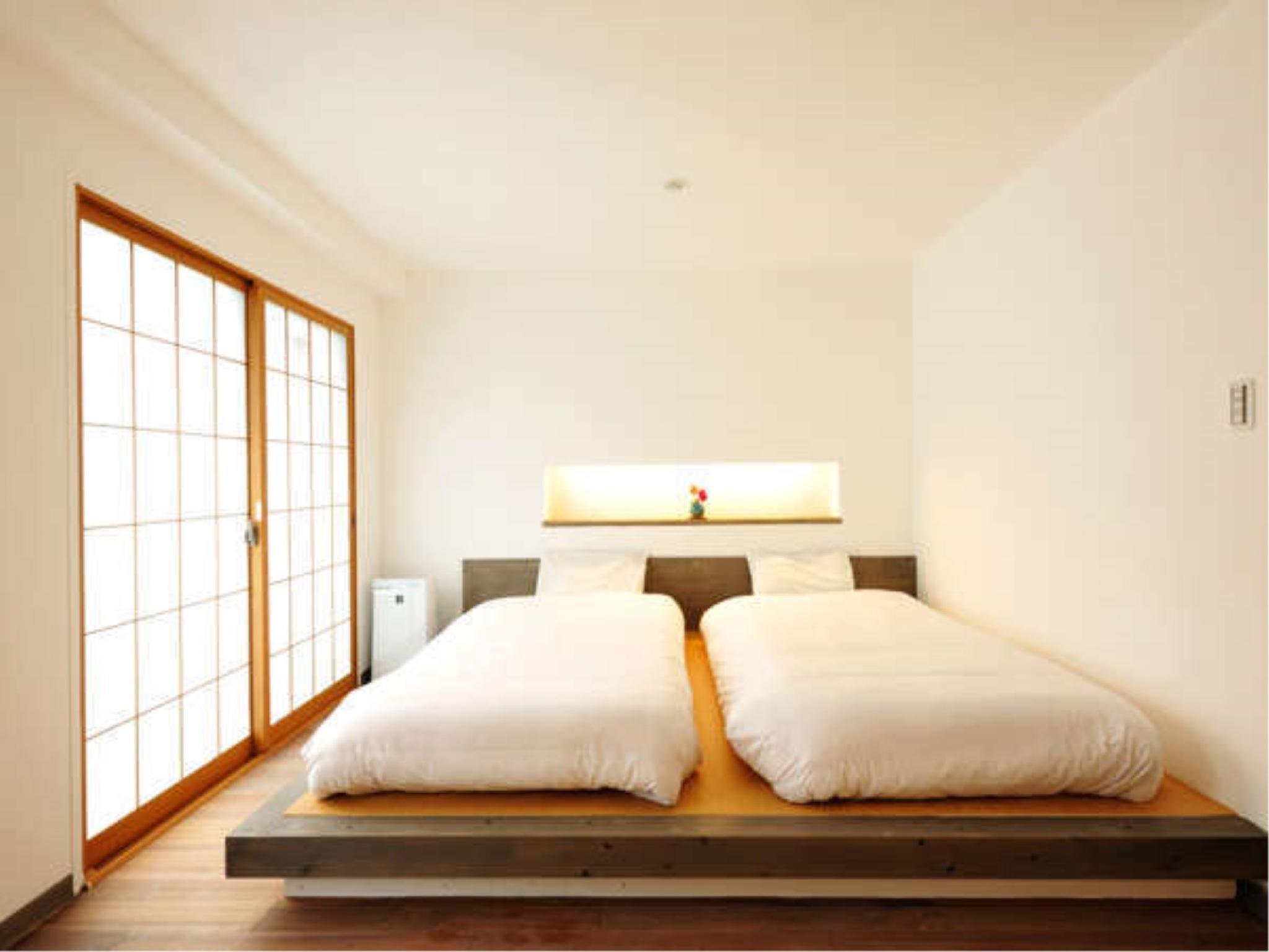 新改装和洋式房+厨房 (Japanese/Western-style Room with Kitchen *Refurbished room)