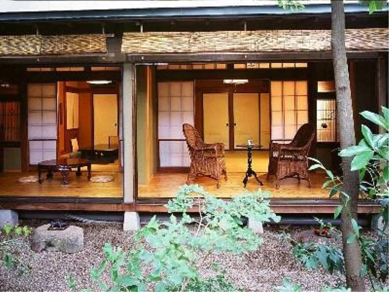 宵待草 日式摩登房+床+露天風呂 (Modern Japanese-style Room with Open-air Bath & Bed(s) (Yoimachigusa Type))