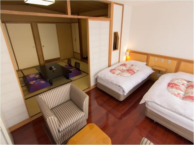 南館 和洋室 2ベッド |10畳+洋間 (Japanese/Western-style Room (2 Beds, South Wing))