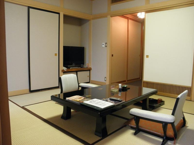 南館 特別室(和洋室)2ベッド 禁煙 (Special Japanese/Western-style Room (2 Beds, South Wing))