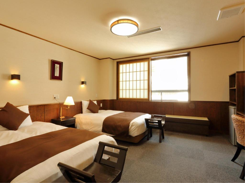 Twin Room *Has shower, no bath in room - Guestroom Inamoto