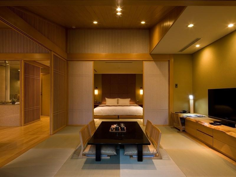 花园SPA套房(King大床+温泉露天风吕) (Garden Spa Suite with Open-air Hot Spring Bath (King Bed))