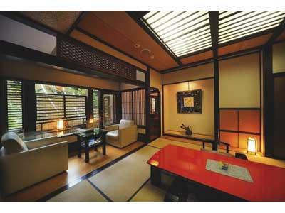 Japanese-style Room with Open-air Bath (Rian-Sansui Type)