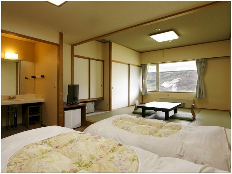 Japanese-style Room with Manza Karabuki View (2 Beds)
