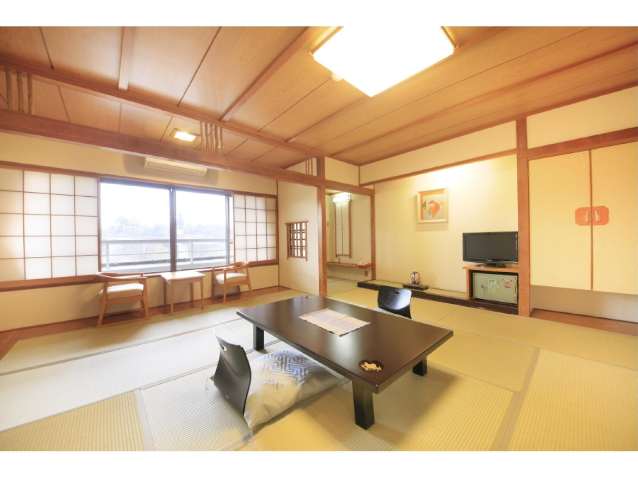 樂水館 和式房+露天風呂 (Japanese-style Room with Open-air Bath (Rakusui Wing))