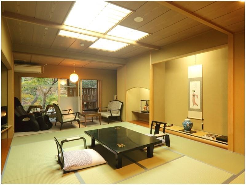 Japanese-style Room (Guestroom with Open-air Bath (Japanese-style Room or Japanese/Western-style Room with 2 Beds))